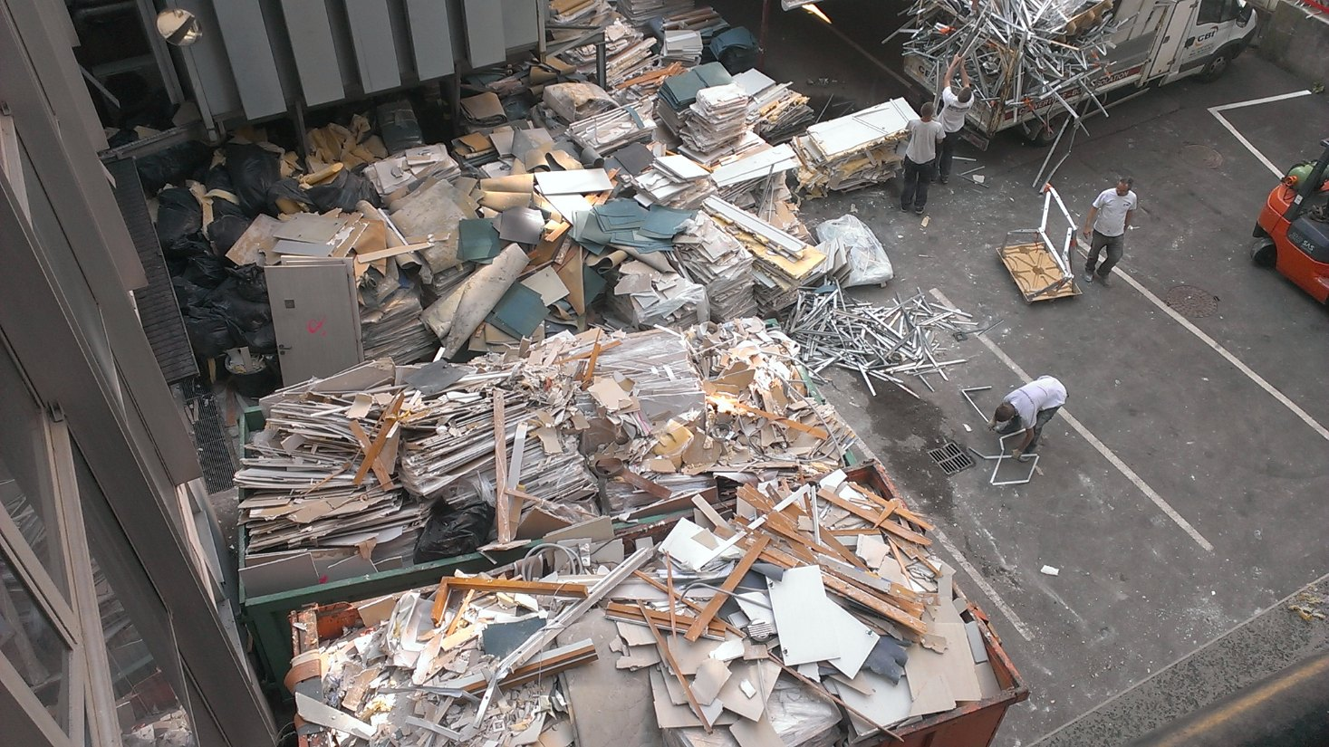 Déblaiement – Débarras – Nettoyage de chantier